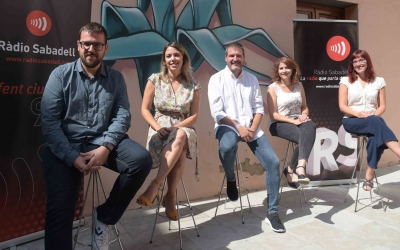 Presentació de la nova temporada al pati de Ràdio Sabadell   Roger Benet
