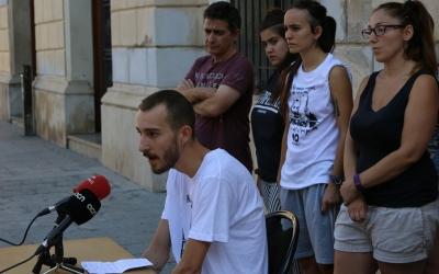 Elgio durant la roda de premsa | Cedida