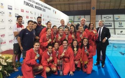 Espanya es va penjar l'or després de superar Rússia a la final (8-12) | RFEN