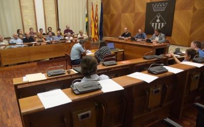L'Ajuntament ha desestimat la suspensió de la llicència en un Ple extraordinari/ Roger Benet