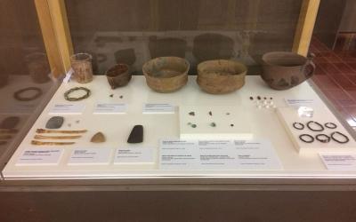 Diferents peces que es troben a l'exposició | Helena Molist