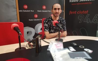 Miguel González als estudis de Ràdio Sabadell | Raquel García
