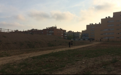 El parc de les Aigües després de les primeres fases d'obres | Helena Molist