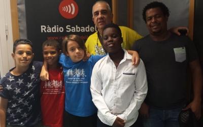 Teo Robles i nens del Club han participat al programa Al Matí   Ràdio Sabadell