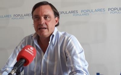 Esteban Gesa, portaveu del PP