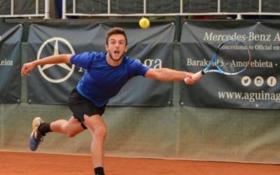 Javier Barranco, un dels favorits al triomf final a l'Open Ciutat de Sabadell