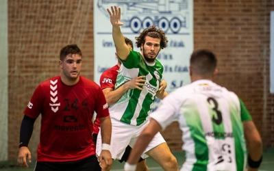 Imatge d'una acció de la primera jornada de lliga | OAR Gràcia
