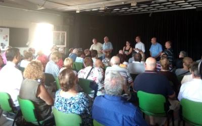 Reunió dels veïns i veïnes de Torre-romeu | Cedida