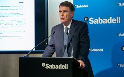 Jaume Guardiola presentant el balanç del tercer trimestre | Cedida