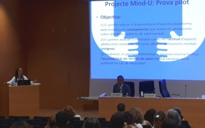 El projecte Mind-U s'ha presentat avui a l'Auditori del Taulí/ Karen Madrid