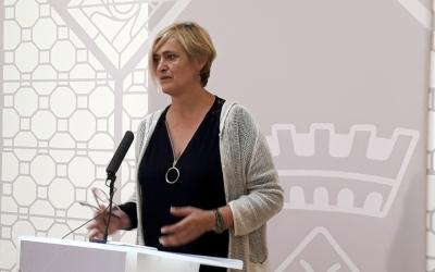 Marisol Martínez defensa la necessitat de regular l'activitat dels clubs cannàbics/ Karen Madrid