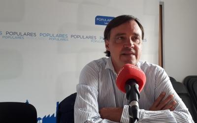 Esteban Gesa ha presentat avui la proposta que es debatrà al Ple/ Karen Madrid