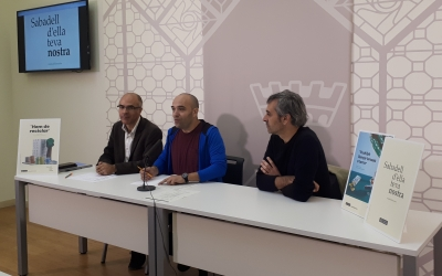 Guerrero i Berlanga han presentat avui la nova campanya de conscienciació/ Karen Madrid