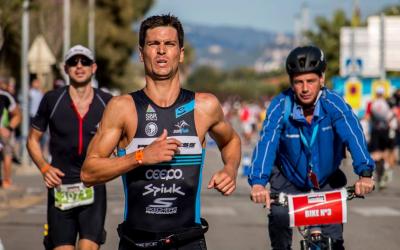 Blanchart va pujar al podi de l'Ironman de Barcelona   Joan Dols