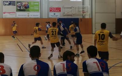 El Creu Alta Sabadell Handbol va empatar davant el Calella | handbolsabadell.cat