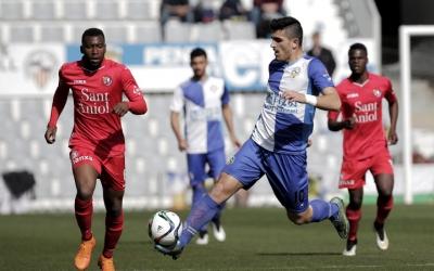Sandro Toscano ha vestit les samarretes arlequinades del Sabadell i l'Ebro | Pedro Salado