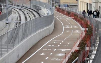 El nou carril bici serviria per donar continuitat al de Gràcia/ Roger Benet