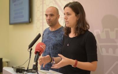 Berlanga i Ferrándiz han presentat avui el Pla d'Igualtat de Gènere i LGTBI, aprovat al Ple de la setmana passada