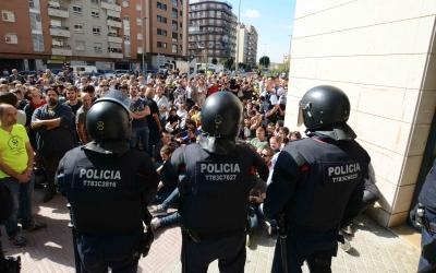 Protesta davant del domicili de Joan Ignasi Sánchez el 20-S | Roger Benet