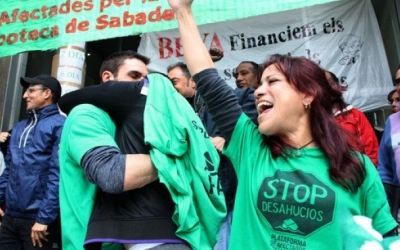 Activistes de la PAH | Arxiu