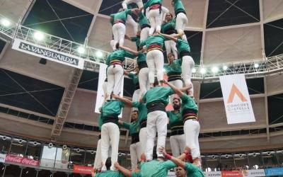 Imatge del 7de8 a la Tarraco Arena Plaça| Castellers de Sabadell