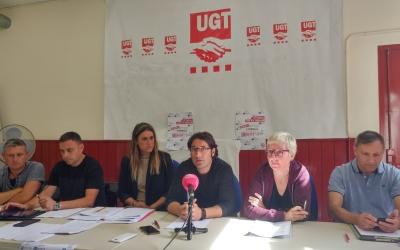 Presentació de l'informe de mobilitat de la UGT   Pere Gallifa