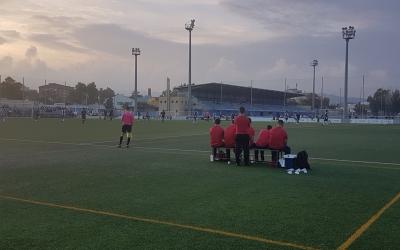 El juvenil del Mercantil no va poder treure un resultat positiu de la seva visita a la Ciutat Esportiva Dani Jarque | @CEMercantil