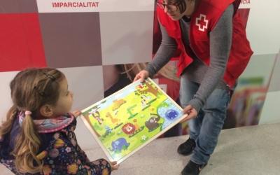 La campanya de recollida de joguines és una de les més grans de Creu Roja/ Creu Roja