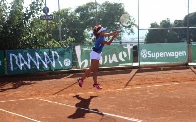 Maria José Luque, jugadora del CTS | Albert Codina