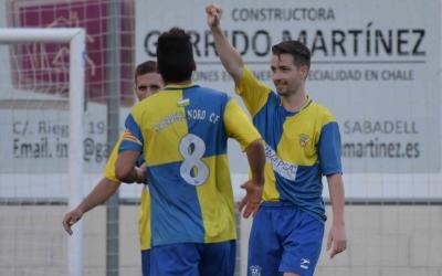 Dani Muela és el màxim golejador de l'equip amb dos gols | Roger Benet