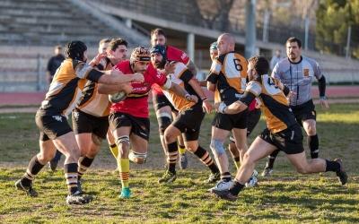L'equip masculí del Sabadell Rugby Club va caure contra el CRUC