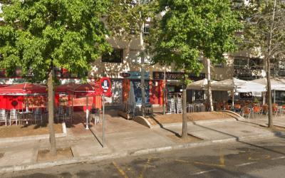 Algunes terrasses de l'Eix Macià | Google Maps