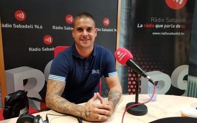 Jordi Pla als estudis de Ràdio Sabadell | Raquel Garcia