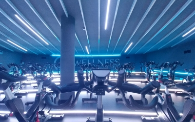 La nova sala d'spinning del QWellness | Pere Gallifa