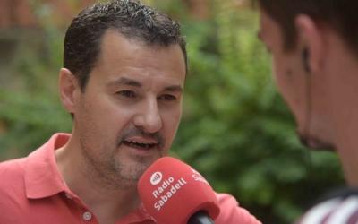 Òscar Lanuza, entrevistat a Ràdio Sabadell | Roger Benet