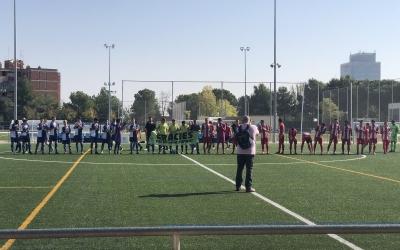 Imatge del partit entre el Sabadell 'B' i el Berga | @ceberga