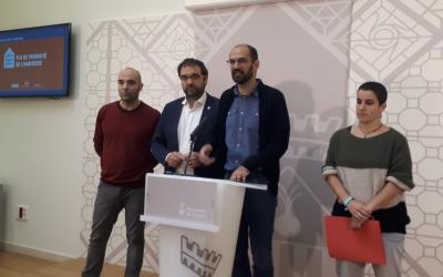 L'equip de govern ha presentat avui les noves promocions d'habitatges/ Karen Madrid