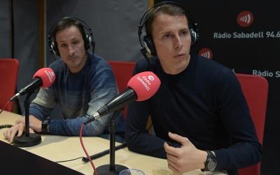 Barranco Trejo i Medié Jiménez, als estudis de Ràdio Sabadell | Roger Benet