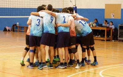 El Club Natació Sabadell de voleibol prepara el derbi | CNS