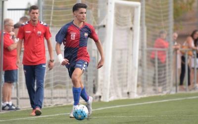 Aiman Barrouhou, amb tres gols, és el segon màxim golejador de l'equip | Roger Benet