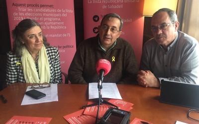 Membres del comitè organitzador de Primàries Sabadell | Ràdio Sabadell