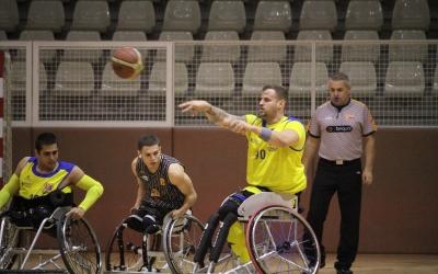 Óscar Onrubia, amb 28 punts, va ser el millor del seu equip | Adrián Arroyo