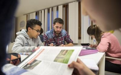 Els menors reforcen les tècniques d'estudi, però també aprenen en valors | Fundació Catalunya La Pedrera