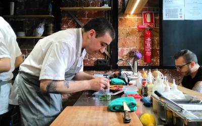 Arnau Muñío, al seu restaurant | Direkte Boqueria