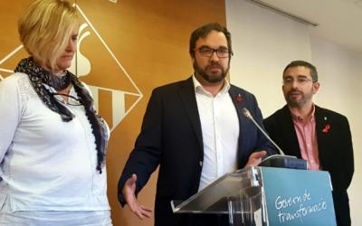 L'alclade Juli Fernàndez presentant les multes el 2016 | Núria Garcia