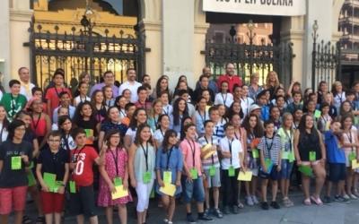 El Consell dels Infants amb l'alcalde i els regidors | Helena Molist