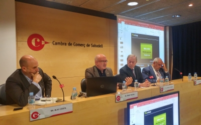 Conferència d'Iñali Mujika a la Cambra de Comerç | Pere Gallifa
