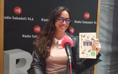 Carolina Torres, als estudis de Ràdio Sabadell/ Raquel Garcia