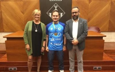 L'Ajuntament ha rebut aquesta tarda Jordi Morales | Joan Muñoz
