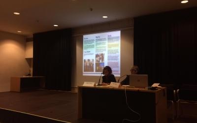 Moment de la presentació de la nova imatge corporativa | Helena Molist